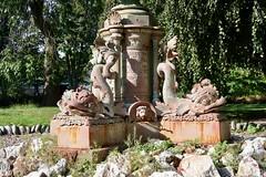 Base of  Citizen Soldier Boer War Memorial fountain, Halifax Public Gardens (globewriter) Tags: boer war memorial fountain halifax public gardens nova scotia boerwar halifaxpublicgardens canong7mkii canon g7 mark