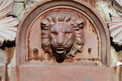 Lion detail,  Boer War Memorial fountain, Halifax Public Gardens (globewriter) Tags: boer war memorial fountain halifax public gardens nova scotia boerwar halifaxpublicgardens canong7mkii canon g7 mark