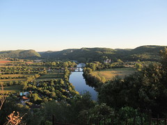 Dordogne River and valley, view from panorama, Beynac-et-Cazenac, France (Paul McClure DC) Tags: beynacetcazenac périgord dordogne france nouvelleaquitaine sept2019 castle château historic architecture scenery river