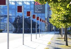 zkm-zentrum-fuer-kunst-und-medien (elmar theurer) Tags: zkm karlsruhe zentrum kunst medien wibel art
