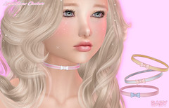 ALMOST FREE :*BABY*: Bow Choker (Princess Even) Tags: secondlife kawaii collar choker chocker necklace accessories cute girly fashion