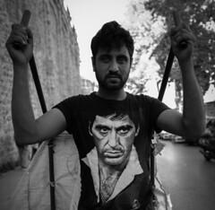 Al Pacino (K.BERKİN) Tags: way turkey tourism human people portrait alpacino street streetphoto streetphotograpy homeless life leica istanbul city blackwhite mirroless man