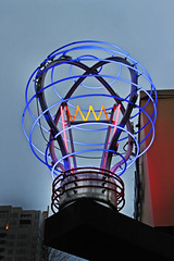 Affected By My Own Affections (skipmoore) Tags: seattle lightbulb neon sign