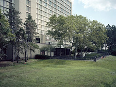 Meadowlands (devb.) Tags: 6x45 mediumformat fujiga645w portra160 meadowlands secaucus hotel nj