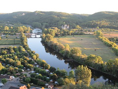 Dordogne River and valley, view from panorama, Beynac-et-Cazenac, France (Paul McClure DC) Tags: beynacetcazenac périgord dordogne france nouvelleaquitaine sept2019 castle château historic architecture scenery