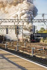 Mainline_2019_09_14_004 (Phil_the_photter) Tags: steam steamengine steamloco steamrailway theyorkshireman saphostrains crewe 34046 braunton bulleidlightpacific bulleid westcountry