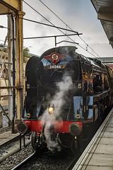 Mainline_2019_09_14_001 (Phil_the_photter) Tags: steam steamengine steamloco steamrailway theyorkshireman saphostrains crewe 34046 braunton bulleidlightpacific bulleid westcountry