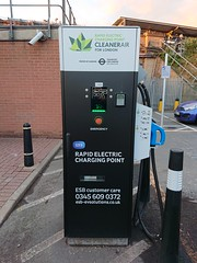 Photo of Rapid Electric Charging Point