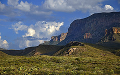 North Ramparts - Chisos Mountains