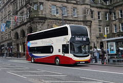 SK19ELX (Borders Buses) Edinburgh 18.5.19 (Rays Bus Photographs) Tags: bordersbuses mmc bikebus sk19elx x62