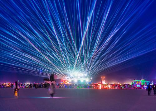 Mayan Warrior at Burning Man