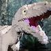 Detail of a Lego Masiakasaurus