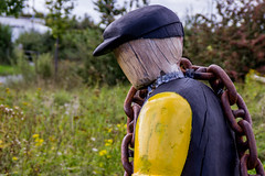 2019 - 09 - 11 - EOS 600D - Saltney Sid - Sculpture - Wales Coast Path - 007 (s wainwright) Tags: 2019 september walescoastpath flintshire newales northwales wales canon600d eos600d