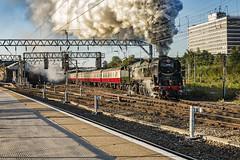 Mainline_2019_09_14_011 (Phil_the_photter) Tags: steam steamengine steamloco steamrailway theyorkshireman saphostrains crewe 34046 braunton bulleidlightpacific bulleid westcountry