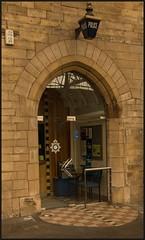 'The Blue Light' (peterdouglas1) Tags: policestation carlisle citadelstation masonry arches