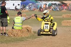Lawnmower Racing - BLMRA at The Great Maze 2019 (mattbeee) Tags: 14 braintree blmra britishlawnmowerracingassociation essex grass grassrootsmotorsport greatmaze lawn lawnmower motorsport racing