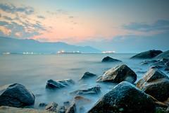 Ilhabela Sunset - Continent view - SP - Brazil ( Gabriel Franceschi®) Tags: gabriel franceschi nikon d300s sigma 1750mm f28 hsm high dynamic range hdr ilhabela sea