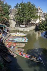 Oxford water colours (SCRIBE photography) Tags: uk england oxfordshire oxford river boat boats punt punts punting water holidays holiday tourists urban town city
