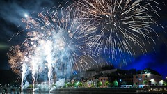 Fireworks - 7400 (✵ΨᗩSᗰIᘉᗴ HᗴᘉS✵85 000 000 THXS) Tags: namur night fireworks belgium europa aaa namuroise look photo friends be yasminehens interest eu fr party greatphotographers lanamuroise flickering