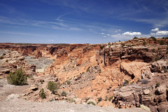 Canyon De Chelly  37 (Largeguy1) Tags: approved landscape blue sky clouds canon 5d mark ii