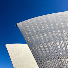 Sails (communicatingcreativelydj) Tags: iphonography iphoneography photography sails opera house sydney sky architecture building design abstract shapes lines tiles