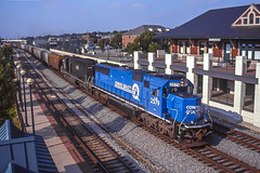 NS 2579 West, Lafayette, IN (Cdr. McBragg) Tags: 2579 conrail ns sd70 depot