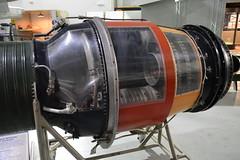 SAC_0149 Pratt and Whitney J-57 turbojet engine (kurtsj00) Tags: sac museum strategic air command