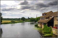 River Ouse (Lotsapix) Tags: cambridgeshire huntingdon stives river ouse riverouse water