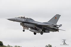 General Dynamics F-16BM BAF (FB-15/cn:6J-15) at Wittmund Airbase (ETNT) Jul/16th/2019 (fraklo) Tags: lockheed martin general dynamics baf belgian air force airbase phantom phlyout 2013 wittmund etnt gaf luftwaffe jagdgeschwader 71 luftwaffengeschwader wtm f16bm falcon 2019 touch go