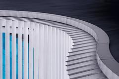 The Edge (Repp1) Tags: canada vancouver bc blue white abstract architecture bleu publicart blanc abstrait lartpublique