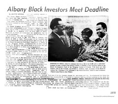 1970 Black Investors (albany group archive) Tags: allan coleman 1970s willbert roberts seth spellman lawrence burwell african american old albany ny vintage photos picture photo photograph history historic historical
