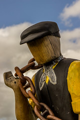 2019 - 09 - 11 - EOS 600D - Saltney Sid - Sculpture - Wales Coast Path - 005 (s wainwright) Tags: 2019 september walescoastpath flintshire newales northwales wales canon600d eos600d