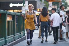 To Tompkins Square Park and Back Saturday (kevinrubin) Tags: newyorkcity stockings streetphotography tattoo street nyc newyork unitedstatesofamerica