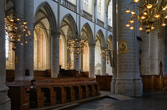 Grote of Onze-Lieve-Vrouwekerk (Julysha) Tags: church dordrecht architecture thenetherlands interior 2019 september autumn d850 sigma241054art acr chandelier