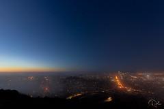 Foggy Night (aliabdullah.176) Tags: sanfransisco california twinpeaks landscape night longexposure t3i