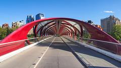 Peace Bridge | P9072100-1 (:munna) Tags: calgary alberta canada peace bridge