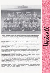 Darlington vs Walsall - 1991 - Page 5 (The Sky Strikers) Tags: darlington walsall the feethams ground barclays league division four official programme 80p