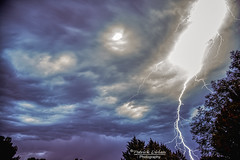My first Arizona Monsoon! -Explore (Patrick Dirlam) Tags: arizona ourhouse lightning storm monsoon moonandsky explore explored