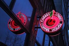 Cherry Street Coffee House (skipmoore) Tags: seattle cherrysreetcoffeehouse neon sign