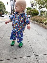 Walking, (quinn.anya) Tags: eliza toddler smile teeth alligator walking