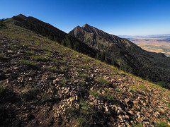 North Peak And Nebo (xjblue) Tags: 2019 mtnebo utah highpoint hike mountain mountains nature outdoor wasatch wasatchmountains landscape summer