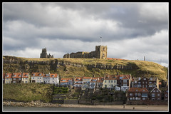 IMG_0082 St Marys Church (Scotchjohnnie) Tags: whitby stmaryschurch whitbyabbey henriettastreet 199steps clouds seascapes shoreline landscape landmark canon canoneos canon7dmkii canonef24105mmf4lisusm yorkshire northyorkshire scotchjohnnie