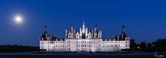 Château de Chambord (Wim Boon Fotografie) Tags: wimboon canoneos5dmarkiii canonef2470mmf28liiusm bluehour frankrijk france chambord châteaudechambord loirevallei loire centrevaldeloire fransi chambordcastle