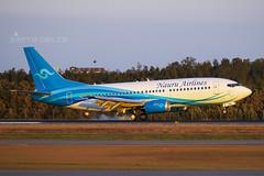 VH-YNU NAURU AIRLINES (Sierra Delta Aviation) Tags: nauru airlines boeing b733 brisbane airport ybbn vhynu