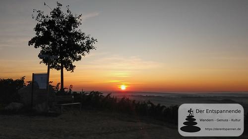 Sonnenaufgang an der Selzstellung