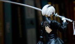 2B (Haryo Arief Wicaksono) Tags: bogor west java province indonesia sony a6000 2b toys action figure nier automata playstation 4 black white french maid