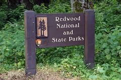 Redwoods National and State Parks, CA (SomePhotosTakenByMe) Tags: sign schild california usa america amerika unitedstates outdoor redwoodnationalpark nationalpark redwood