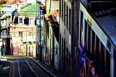 Railroad (Pictures in my head) Tags: portugal lisbon lisbonne lisboa city life new town discover with friends explore students history good time after exams chill discovery explorer nature lover buildings architecture style railroad colours art street contrasts beauty photography postcard view