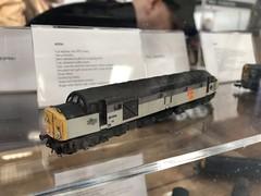 Mercig Graham Farish 40054, The International N Gauge Show (looper23) Tags: mercig class 40 railfreight loco n gauge model railway september 2019 farsh