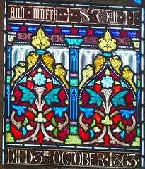 Church - St Andrew, Slaidburn 190822 [Wilkinson Memorial Window m] (maljoe) Tags: church churches stainedglass stainedglasswindow stainedglasswindows standrews standrewchurchslaidburn slaidburn lancashire 1000bestchurches